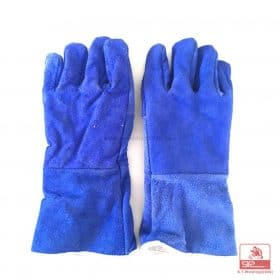 Heat protected gloves