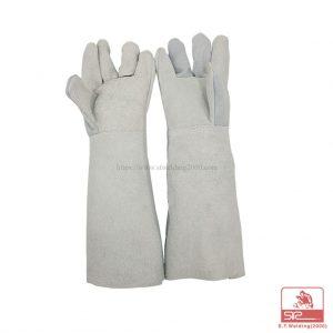 ถุงมือหนัง 16 นิ้ว